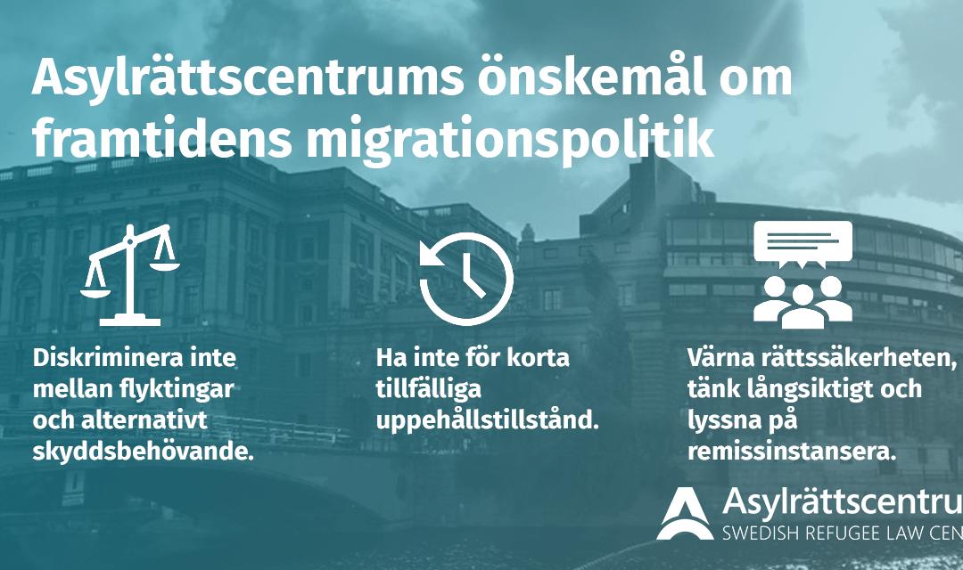 Förslagen till ny migrationspolitik – miniminivå är det nya normala